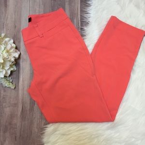 Ny & Co • 7th Avenue Coral Zip Ankle Pant